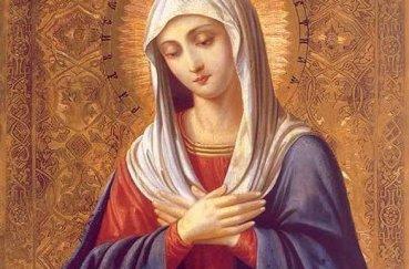 Молитва к матери божьей в день рождения