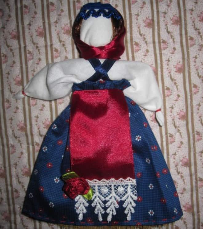 metlu Народная кукла своими руками из ткани: мастер-класс с фото и видео