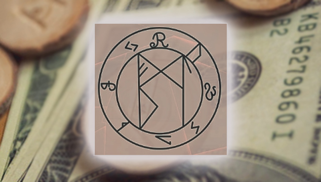 Рунический став для привлечения денег и богатства
